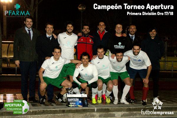 PFarma-campeon-Apertura-futbolempresas