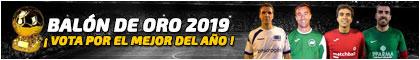 Banner balon de oro alargado Futbolempresas